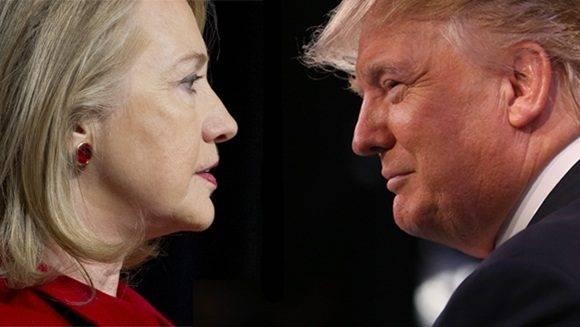 Lucha por la Casa Blanca. Hillary vs Trump.