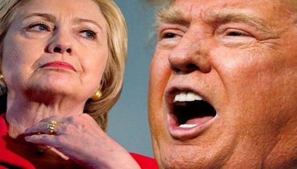 Hillary y Trump. Foto: AP