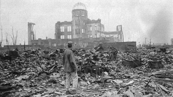Las imágenes muestran el desastre en las ciudades japonesas después de la masacre acometida por los Estados Unidos.