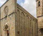 La iglesia de Sant'Agostino también sufrió daños.