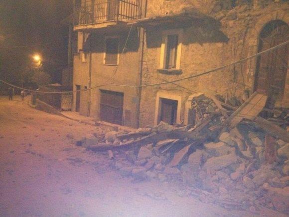 imágenes del terremoto