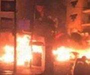 Incendio en hospital de Bagdad. | Foto: tn8