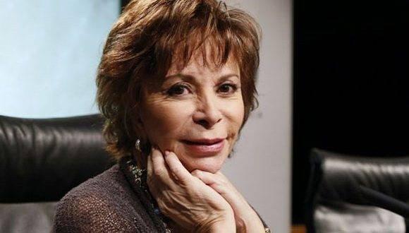 Escritora chilena Isabel Allende. Foto. Getty Images.