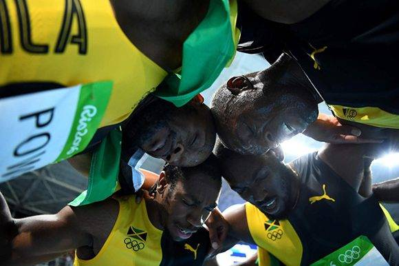 Las pruebas de velocidad volvieron a catapultar a Jamaica como líder del Caribe. Foto: Franck Fide/ AFP.