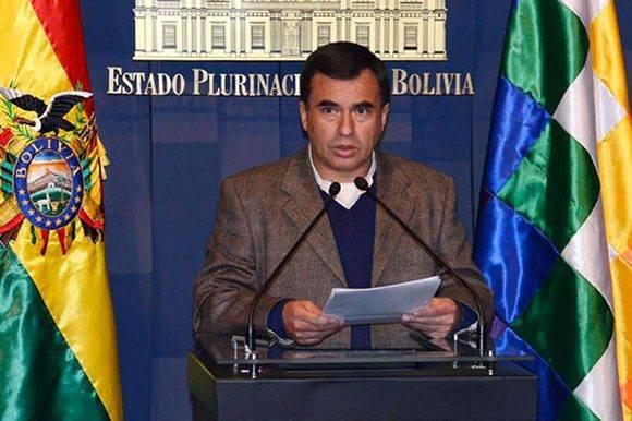 Juan Ramón Quintana, ministro de la Presidencia en Bolivia. Foto tomada de PL.