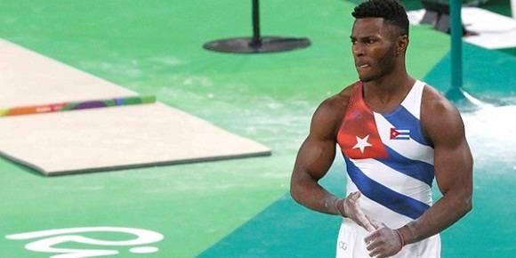 Manrique Larduet en Río 2016.
