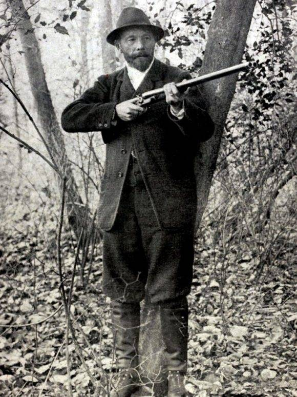 El tirador belga Leon de Lunden, campeón en los Juegos de 1900. Foto tomada de La Guía del Varón.