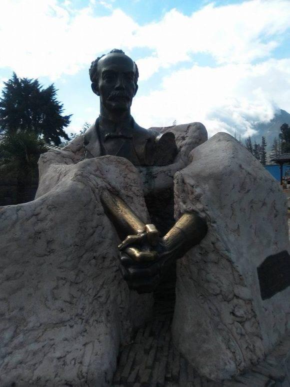Las manos de Martí. Foto: Maribel Acosta