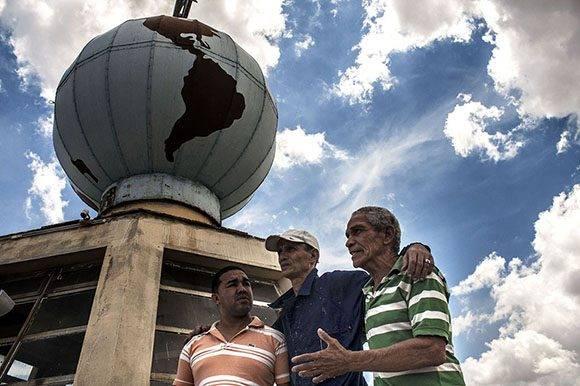 Fue un trabajo colectivo para rescatar un símbolo de la ciudad.Foto: René Pérez Massola