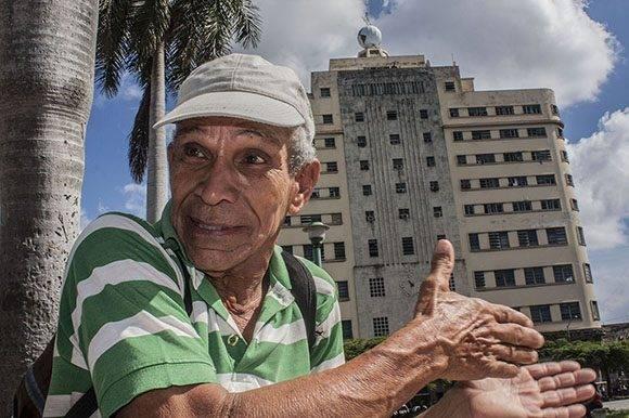 Osorio llegó al edificio masónico a ofrecer su ayuda desinteresada como innovador. Foto: René Pérez Massola