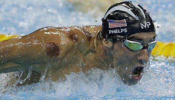 Michael Phelps en Rio este martes. Foto: Matt Slocum/ AP