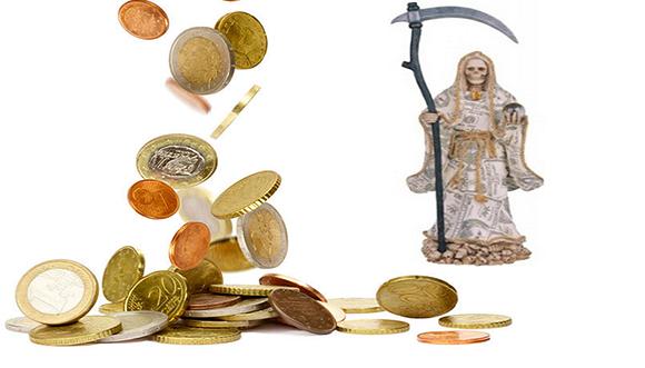 muerte dinero