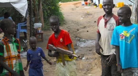 niños guerra sudan del sur