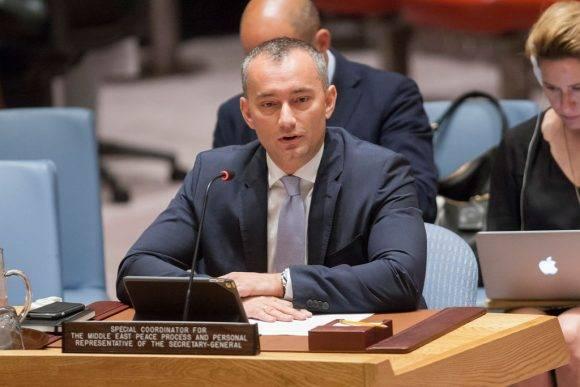 Nickolay Mladenov en el Consejo de Seguridad de la ONU. (Archivo) Foto: ONU/Loey Felipe