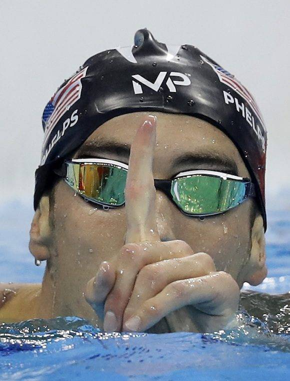 Londres 2012: Phelps, La Bala de Baltimore