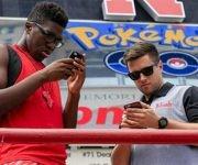 El juego de internet Pokemon Go presente en Rio-2016.