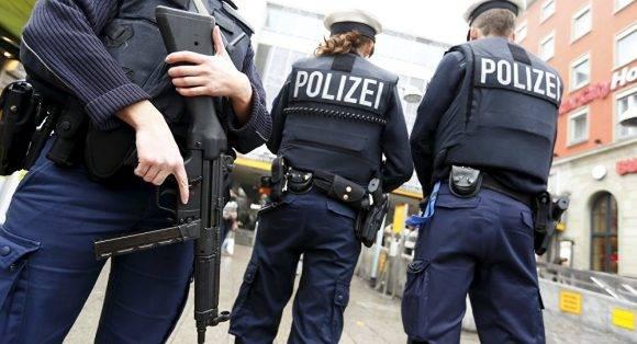Policía alemana. Foto tomada de Sputniknews.