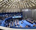 Vista general del Senado brasileño.