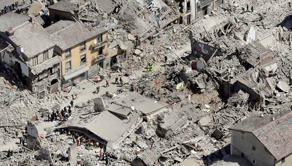 sismo en Italia