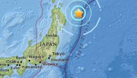 A unos 167 kilómetros de la ciudad de Miyako se dio el sismo. | Foto: USGS.