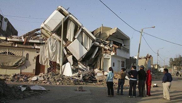 Los estragos del terremoto en la sureña región de Arequipa, en Perú. Foto: Ana Cecilia Gonzales-Vigil/ The New York Times.