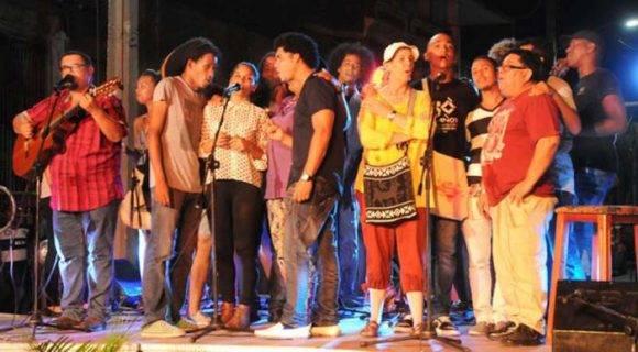 El concierto Te doy una canción dio inicio a la 40 Jornada de la Canción Política. Foto: Leonel Escalona