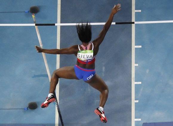 Yarisley Silva en la final de Río 2016. Foto: Morry Gash/ AP