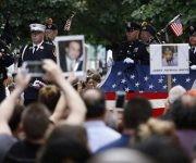 Estados Unidos recuerda el 15 aniversario de los atentados. Foto: EFE.