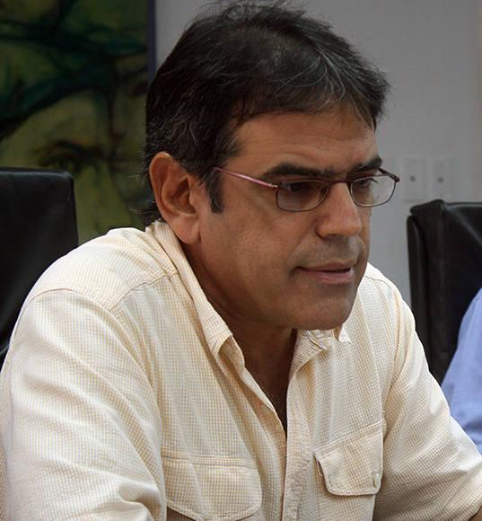 Abel Rivero, Jefe del Departamento de Empleo y Salario de la Dirección Nacional de la CTC Foto: José Raúl Concepción/ Cubadebate.