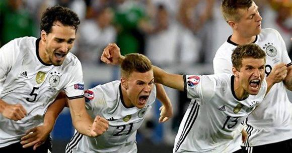 Alemania goleó a Noruega 0-3.