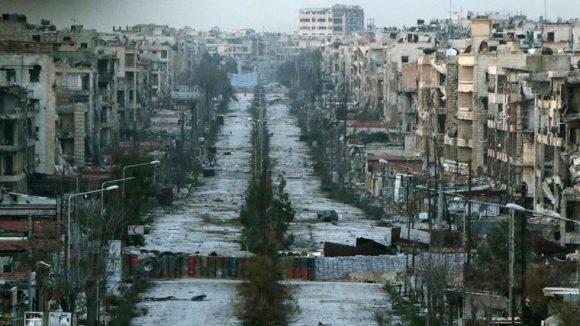 Imagen de Alepo. Foto tomada de elmicrolector.org