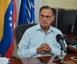 Declaraciones a la prensa del Dr. Alí Rodríguez Araque, embajador de la República Bolivariana de Venezuela en Cuba, en La Habana, el 1 de septiembre de 2016. ACN FOTO/Marcelino VAZQUEZ HERNANDEZ