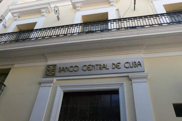 Banco Central de Cuba. Foto: Archivo.