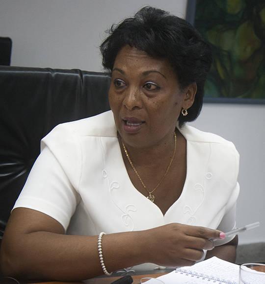Belkis Pino, vicejefa de la ONAT. Foto: José Raúl Concepción/ Cubadebate.
