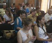 El Seminario Internacional se desarrolla en la Casa de la Amistad, ubicada en el Vedado capitalino. Foto: José Raúl Concepción/ Cubadebate.