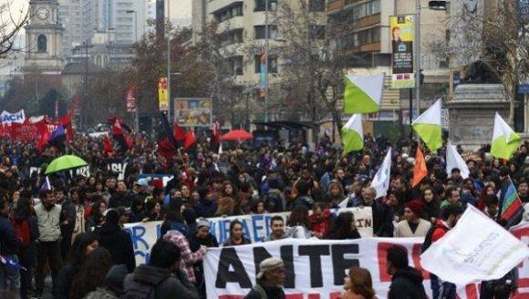 Chile educacion protestas