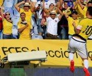 James no pasa por un buen momento en el Real Madrid, pero su buen fútbol regresa con Colombia. Foto tomada de AS.