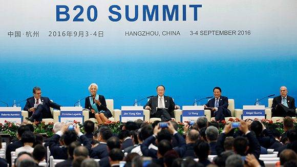 Cumbre del G20 en China se inauguró este domingo. Foto: Aly Song/ Reuters.