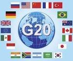 Banderas de los integrantes del G20.