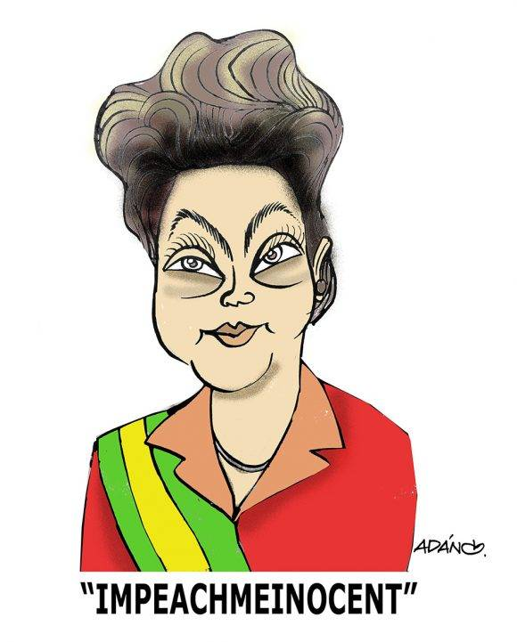 Dilma impeachmeinocent. Autor: Adán