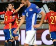 Álvaro Morata y David Silva anotaron sendos dobletes. Foto tomada de Marca.