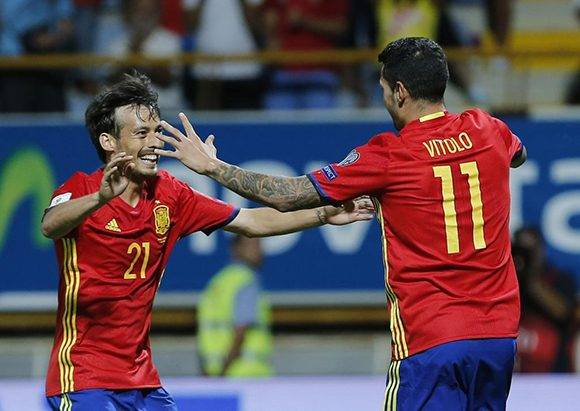 Diego Costa fue el otro español que se fue con un doblete. Foto tomada de Marca.