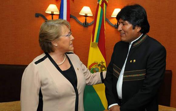 Evo Morales ratifica voluntad de diálogo con Chile sobre diferendo marítimo