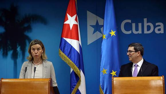 Unión Europea solicita a sus miembros apoyar nuevo acuerdo de cooperación y diálogo con Cuba