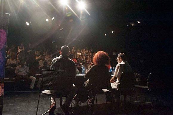 Conferencia de prensa. Foto: Iván Soca.