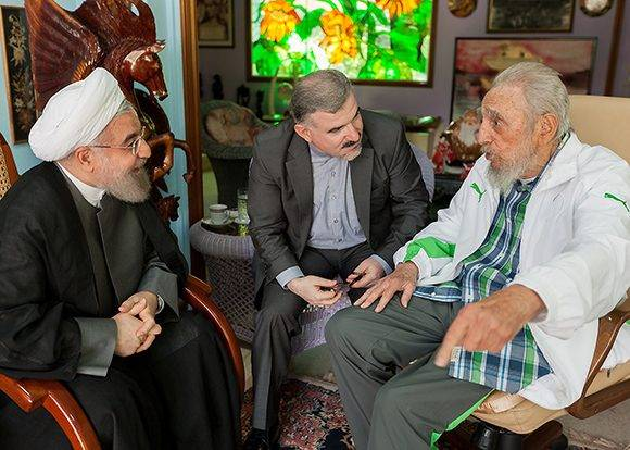 Fidel-presidente Iran