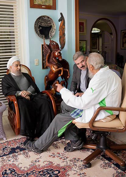 Fidel-presidente Iran2