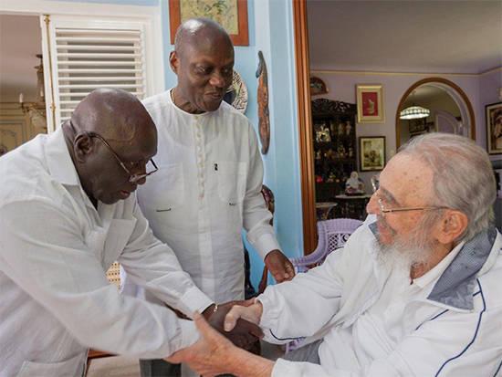 Fidel y Presidente de Guinea