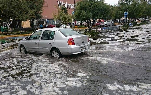 El huracán Hermine ha provocado grandes inundaciones en Florida. Foto: EFE/Jorge Núñez.