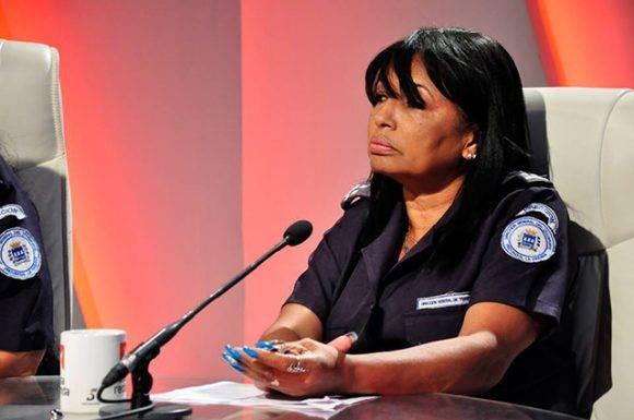 Ing. Maribel Poulot Bravo, Directora de Pasaje de la Dirección General de Transporte Provincial La Habana